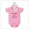 2010 Baby's First Christmas Bundle of Joy Onesie (Girl)