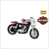 2010 Miniature Harley-Davidson 12th 1972 XR-750 *Miniature