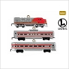 2011 Miniature Lionel Trains Santa Fe Super Chief set/3 *Miniature