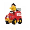 2011 Fisher Price Little People Lil Movers Firetruck Ornament