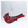 2012 Cardinal Red Glass *Complements Beauty of Birds Series