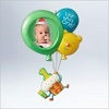 2012 Baby's First Birthday Photo Holder With Balloons