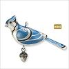 2012 Beauty of Birds Complement Blue Jay *Miniature