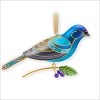 2013 Beauty of Birds Indigo Bunting *Event Repaint *Signed