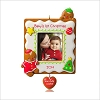 2014 Baby's 1st Christmas One Cute Cookie Photo Holder