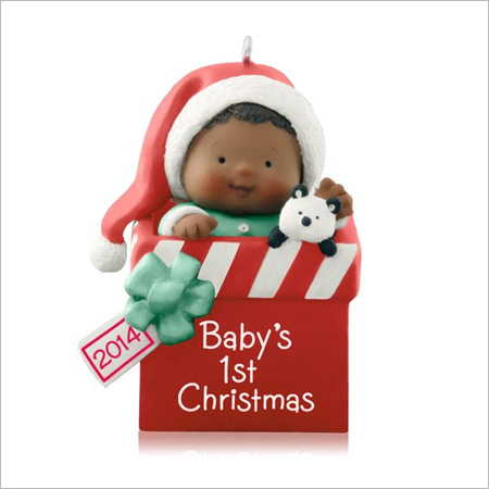 2014 Baby's 1st Christmas African American Hallmark ...