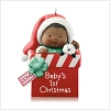 2014 Baby's 1st Christmas African American