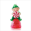 2014 Happy Little Elf Gumdrop *Miniature *Red