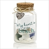 2015 A Day at the Beach Glass Jar