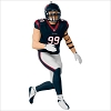 2017 Football Legends Complement J.J. Watt Houston Texans
