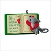 2017 A Creature Was Stirring 1st Mouse on Book *Miniature