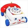 2017 Fisher Price Tiny Chatter Telephone (Ornament NOT Toy) *Miniature