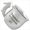 2017 Grandbaby's First Christmas Silver Cup