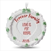 2018 Forever Family Porcelain Wreath