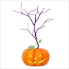 Miniature Halloween Pumpkin Tree *Halloween *Requires Magic Cord