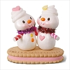 2018 Sweet and Sassy Sisters Snowmen on Cookie