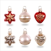 2018 Miniature Glass Ornaments set/6 *Miniature