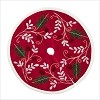 Miniature Tree Skirt Red *Miniature Issued 2019