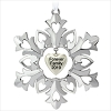 2019 Forever Family Metal Snowflake - Ships Oct 7