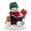2019 Story Time Snowman Ornament (Replica of Plush Singing Snowmen) *Magic