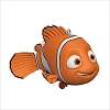 2019 Finding Nemo Orange Fish *Miniature