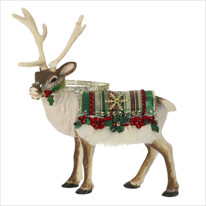 2019 Father Christmas Complement Reindeer Ltd Qty