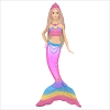 2019 Barbie Rainbow Lights Mermaid *Magic