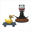 2019 The Nightmare Before Christmas Scary Teddy & Undead Duck set/2 *Miniature *Ltd. Qty.