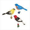 2020 Beauty of Birds Outdoor Ornaments Set of 3