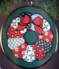 1983 Crown Classics: Enameled Christmas Wreath (NB)