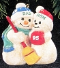 1995 Mom and Dad Snowmen