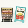 Corner Drive-In Sidewalk Signs set/2 Kiddie Car Accessory