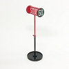 Stop Sign Kiddie Car Accessory