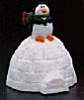1986 Penguin on Igloo Container *MM Christmas