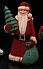 1986 Folk Art Santa *MM Christmas