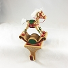 1984 Baby's First Christmas Rocking Horse Stocking Hanger (NB)