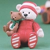 2002 Itty Bitty Bear Peppermint - December *MM