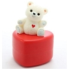 1984 Teddy Bear on Heart Container *MM Valentine's