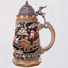 2018 Beer Stein TABLETOP Santa Takes Flight