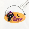 Be Witchin Orange Sign With Cat *Halloween Trimmer