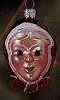 2000 Lil' Mrs.Claus *Blown Glass