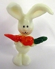 1975 Bunny With Carrot *MM Easter *Hard to Find