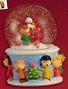 2005 Peanuts A Charlie Brown Christmas Snow Globe Table Topper