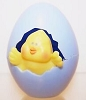 1987 Chick In Blue Egg *MM Easter
