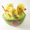 Happy Easter Tweets Chicks in Basket *Easter Plush No Tag
