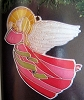1981 Colors of Christmas Crown Classics Angel (NB)