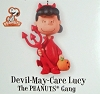 2010 Peanuts Gang Devil-May-Care Lucy