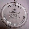 1985 75 Years of Caring Acrylic Ornament