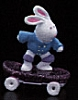 1989 Bunny On Skate Board *MM Easter