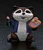 1990 Raccoon Painting *MM Easter